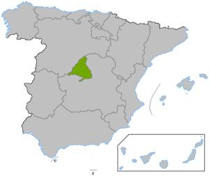Localizacion Comunidad de Madrid