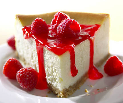 Cheesecake con Raspberry